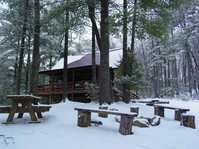 Winter Photo Gallery At Fall Creek Cabins Near Boone