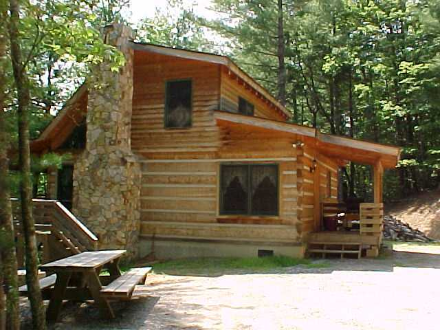 Choose your vacation rental cabin at fall creek cabins for Vacation log homes
