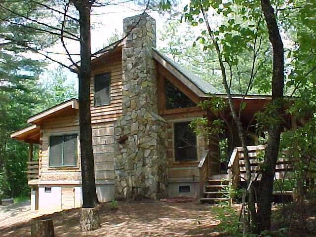 Pine crest vacation rental cabin at fall creek cabins near - 4 bedroom cabins in north carolina ...